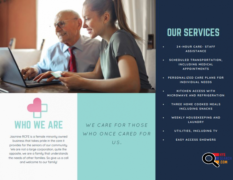 JASMINE RCFE - Residential Care Facility For The Elderly