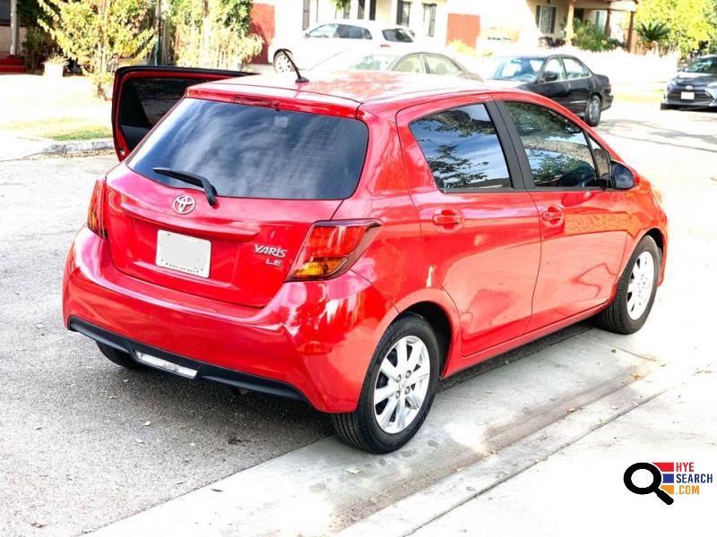 2015 Toyota Yaris LE Hatchback Sedan 4D in Glendale, CA