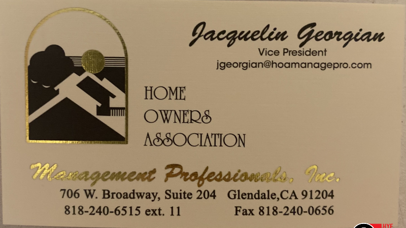 Home Owners Association in Glendale, CA