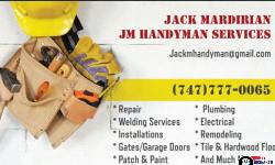JM Handyman Services in Los Angeles, CA – Handyman Ծառայություններ